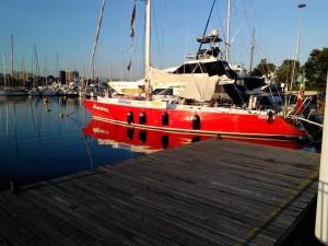 Pigafetta 500, la barca partita da Marina Sant'Andrea di San Giorgio di Nogaro (UD)