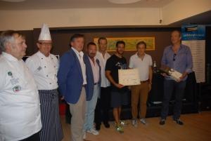 Lo sportivo Molmenti Daniele premiato al Premio Carati d'Autore 2012