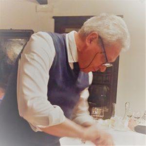 L'eclettico Piero Zanin Ristorante La Taverna di Colloredo di MonteAlbano
