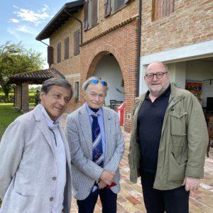 Moreandini , Licio Damiani e Gian Paolo Girelli